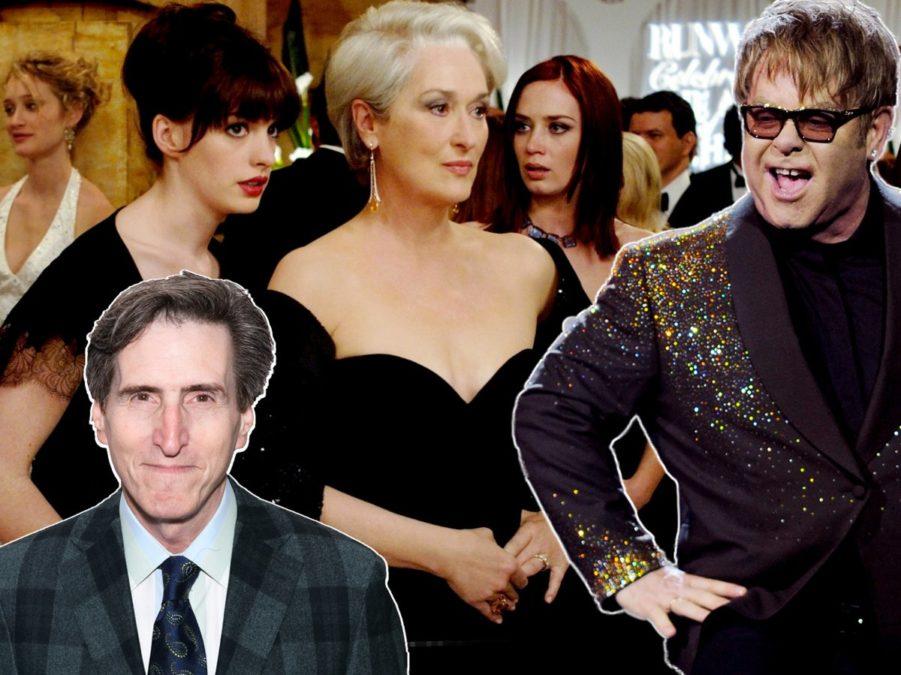 Paul Rudnick - Emilio Madrid-Kuser - The Devil Wears Prada - COURTESY OF 20TH CENTURY FOX - Elton John - Getty Images