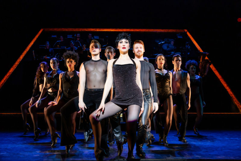 "scene from CHICAGO Velma Kelly and Company performing ""All That Jazz"""