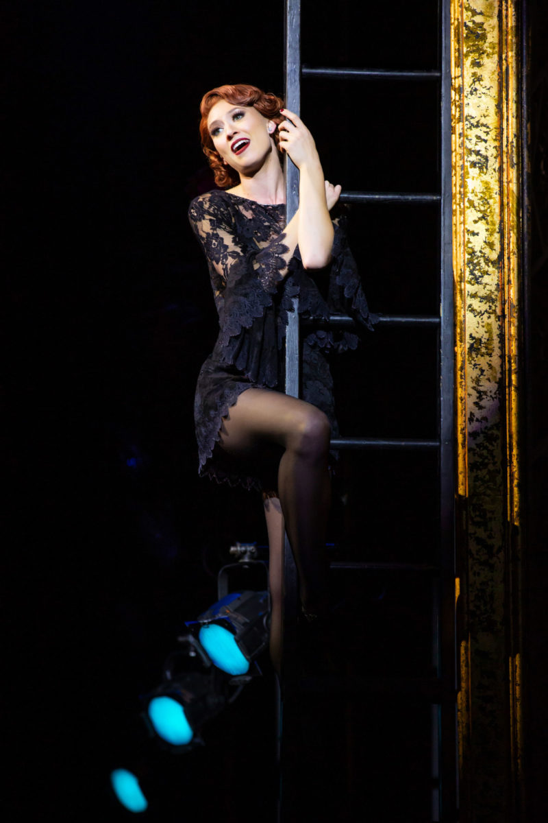 Scene from CHICAGO Roxie Hart singing