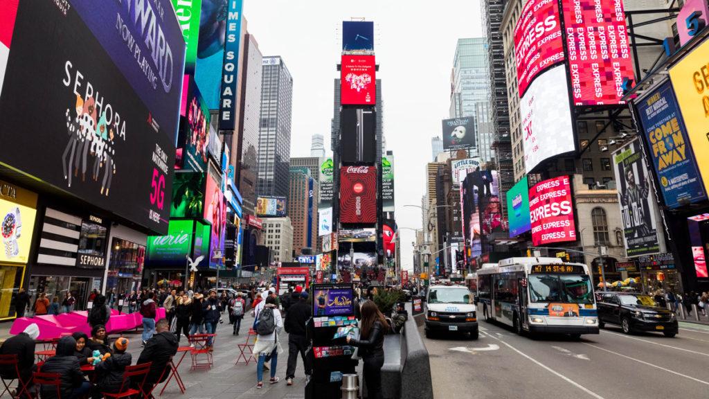 Times Square - 3/20 - Emilio Madrid