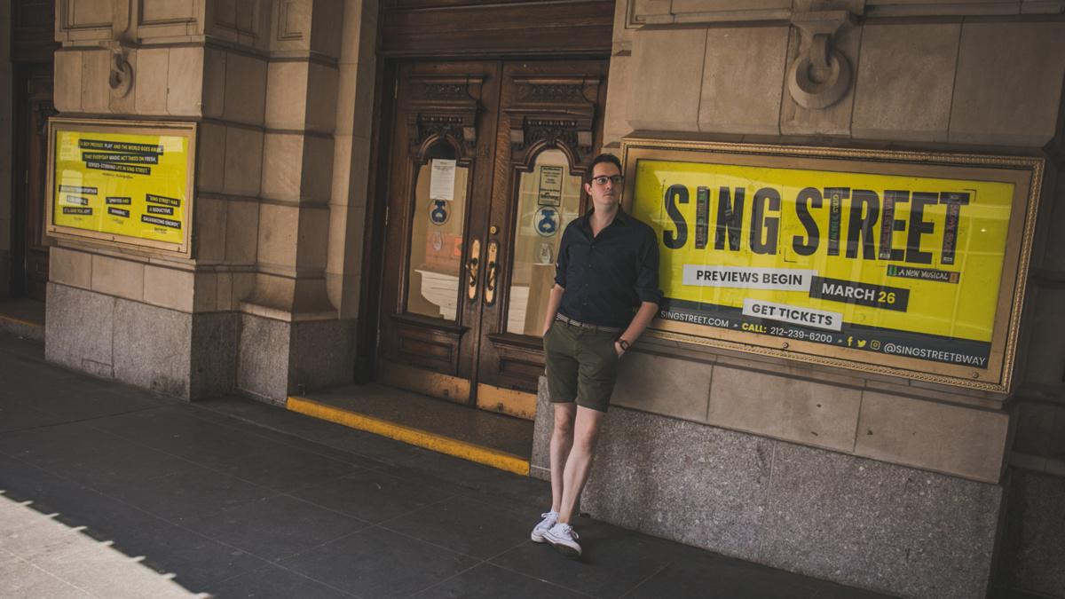 Away From Home - Matthew DiCarlo - Sing Street - 8/20 - Matt Stocke for Broadway.com
