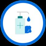 Hand Sanitizing Stations
